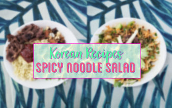korean salad recipe post